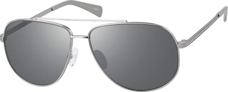 aviator sunglasses silver  Silver Premium Aviator Sunglasses #11265
