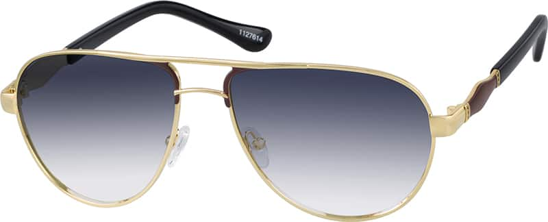 UnisexFull RimStainless SteelEyeglasses #1127614