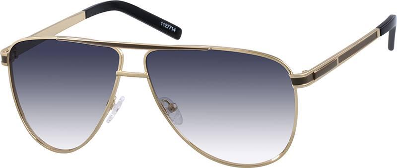 Zenni Optical Aviator Glasses : Gold Premium Aviator Sunglasses #11277 Zenni Optical ...