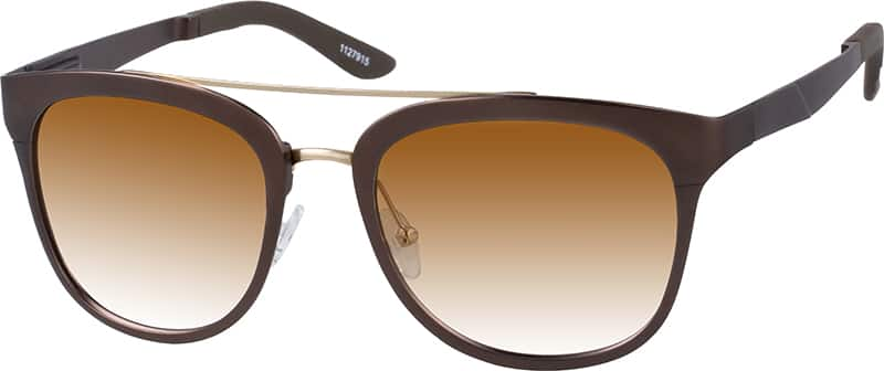 Zenni Optical Square Glasses : Brown Premium Square Sunglasses #11279 Zenni Optical ...