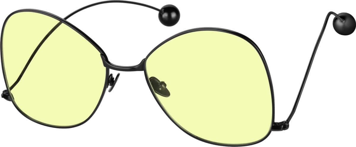 WomenFull RimStainless SteelEyeglasses #1128314