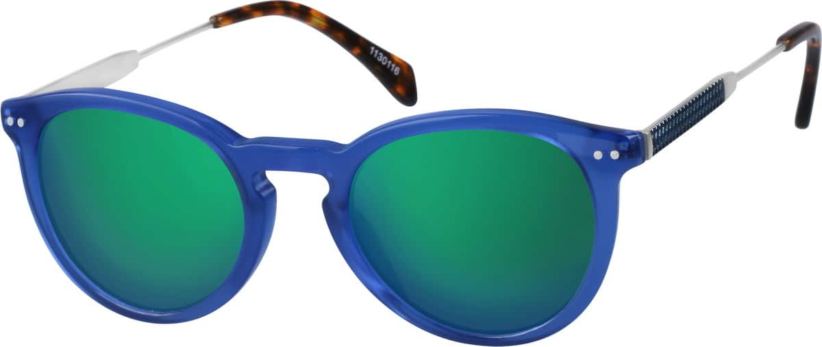 UnisexFull RimMixed MaterialsEyeglasses #1130121