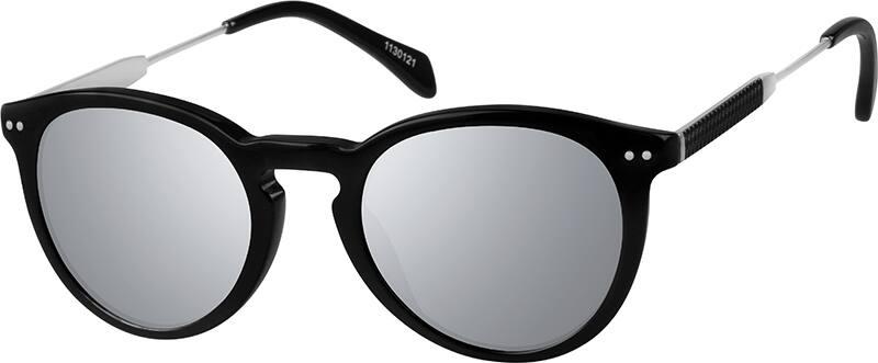 UnisexFull RimMixed MaterialsEyeglasses #1130116
