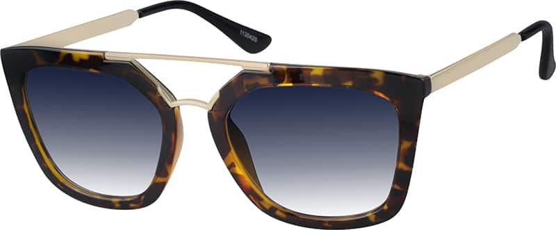 Tortoiseshell Premium Aviator Sunglasses #11304 Zenni ...