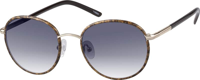 UnisexFull RimMixed MaterialsEyeglasses #1130625