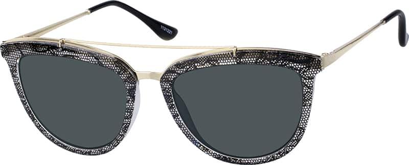 WomenFull RimMixed MaterialsEyeglasses #1131221