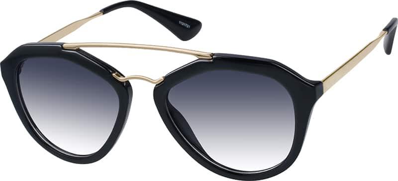 UnisexFull RimMixed MaterialsEyeglasses #1131725