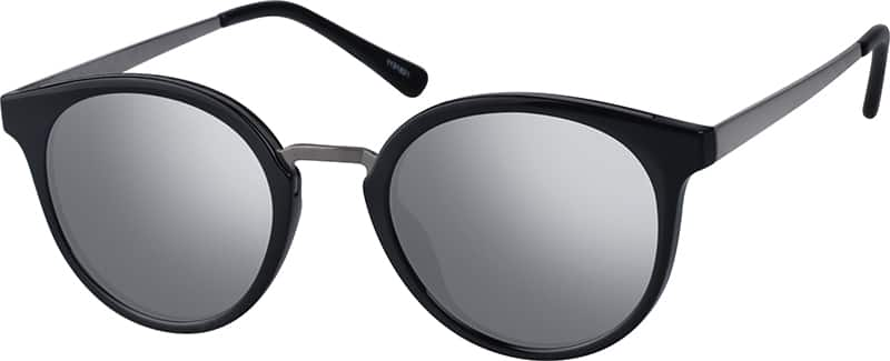 UnisexFull RimMixed MaterialsEyeglasses #1131821