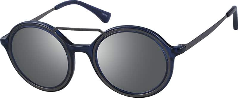 UnisexFull RimMixed MaterialsEyeglasses #1131921