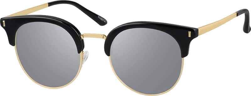 WomenFull RimMixed MaterialsEyeglasses #1132721