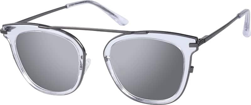 UnisexFull RimMixed MaterialsEyeglasses #1132823