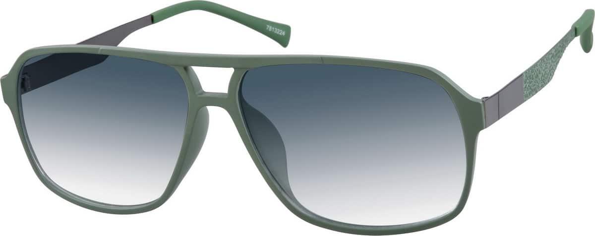 UnisexFull RimMixed MaterialsEyeglasses #1133224