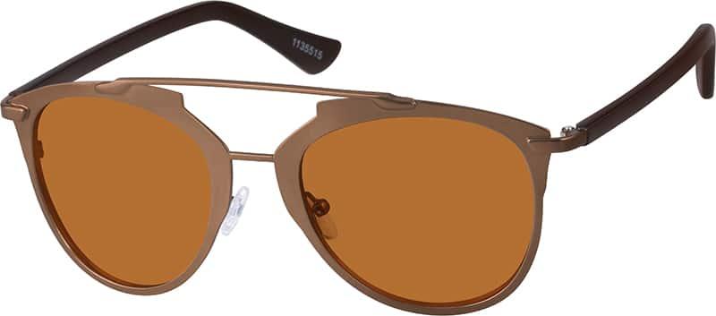 Zenni Optical Aviator Glasses : Brown Premium Aviator Sunglasses #11355 Zenni Optical ...