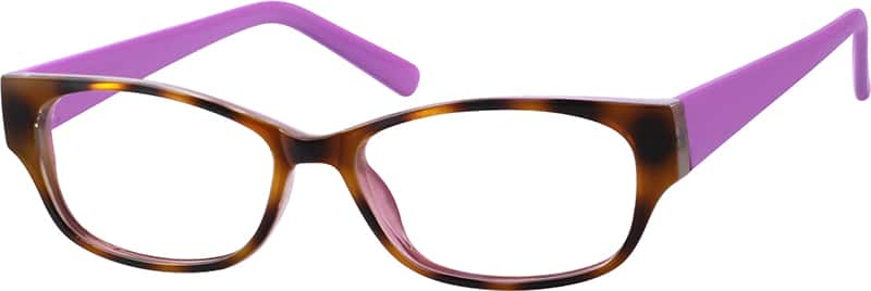 Women Full Rim Acetate/Plastic Eyeglasses #120430