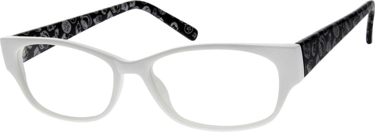 Women Full Rim Acetate/Plastic Eyeglasses #120425