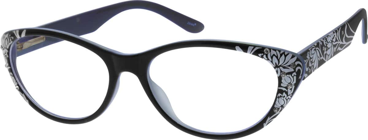 Women Full Rim Acetate/Plastic Eyeglasses #121821