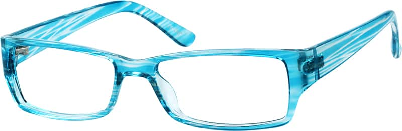 blue glasses