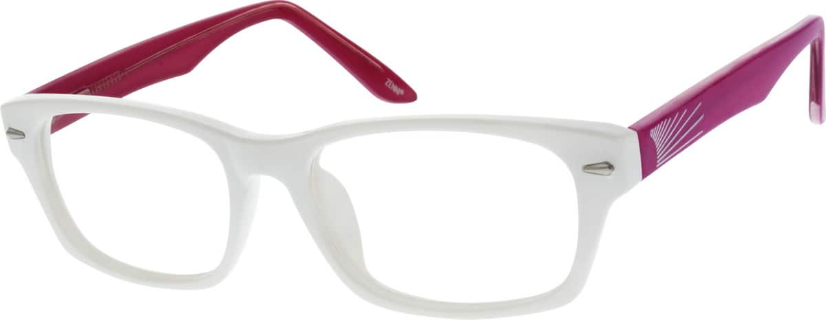 Women Full Rim Acetate/Plastic Eyeglasses #122830