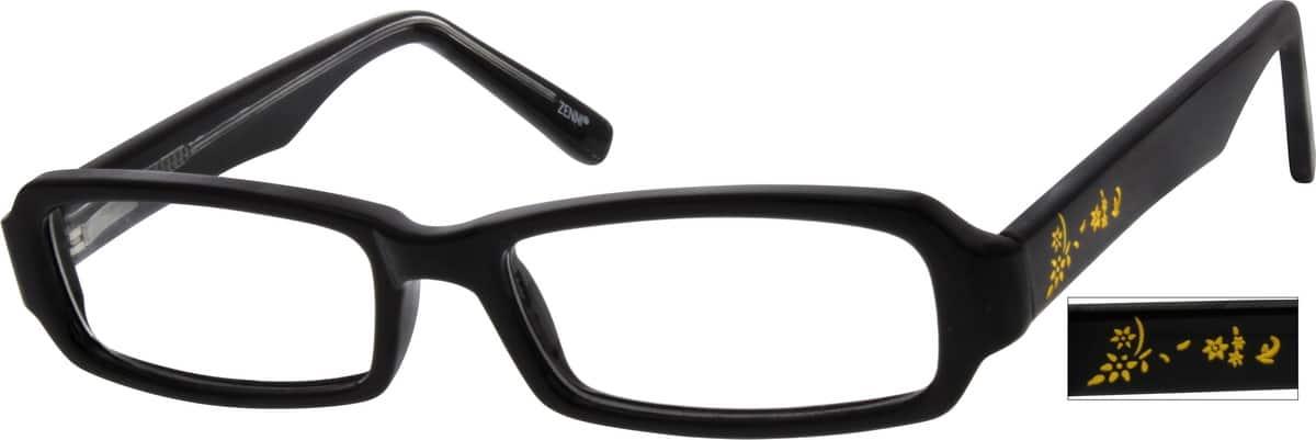 KidsFull RimAcetate/PlasticEyeglasses #122915
