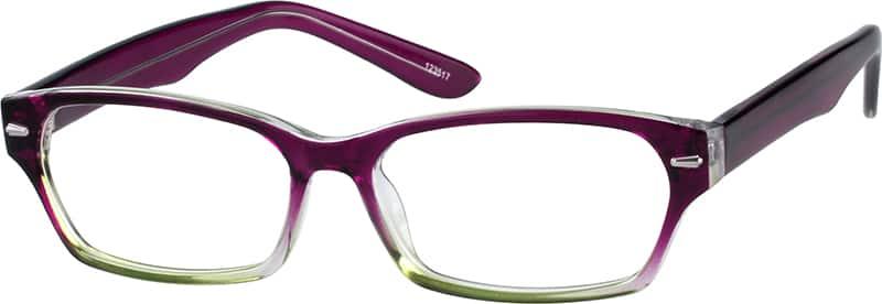 WomenFull RimAcetate/PlasticEyeglasses #123525