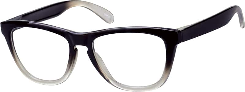 Ombre Square Eyeglasses & Sunglasses