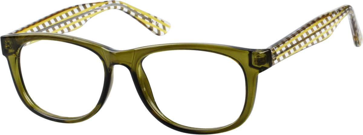 Sporty Square Eyeglasses