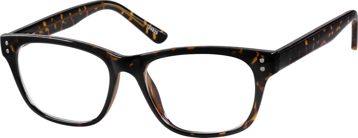 acetate-plastic-square-eyeglass-frames-124925