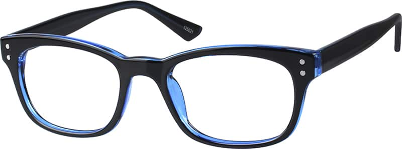 acetate-plastic-rectangle-eyeglass-frames-125021