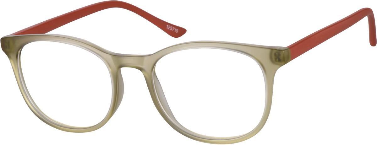 WomenFull RimAcetate/PlasticEyeglasses #125715