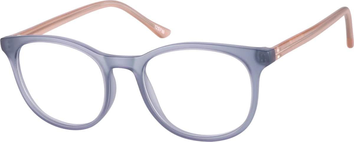 Women Full Rim Acetate/Plastic Eyeglasses #125716