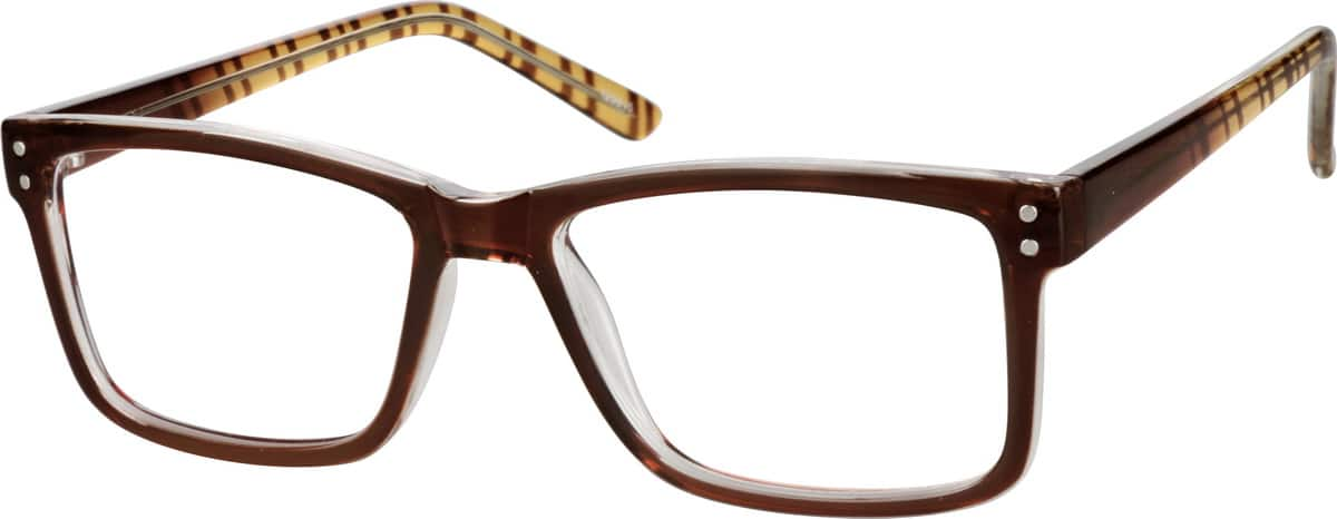 classic rectangular eyeglasses