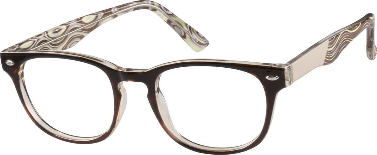 Vintage-Inspired Oval Eyeglasses