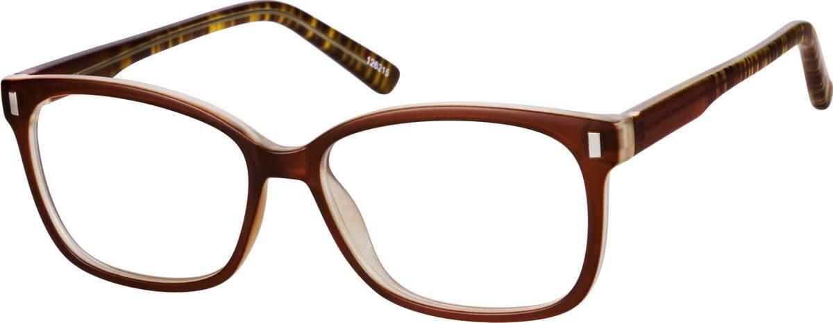 UnisexFull RimAcetate/PlasticEyeglasses #126215