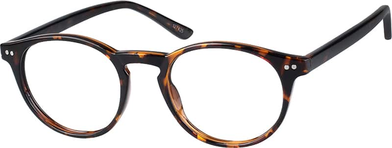 Tortoiseshell Round Eyeglasses #1274 Zenni Optical ...