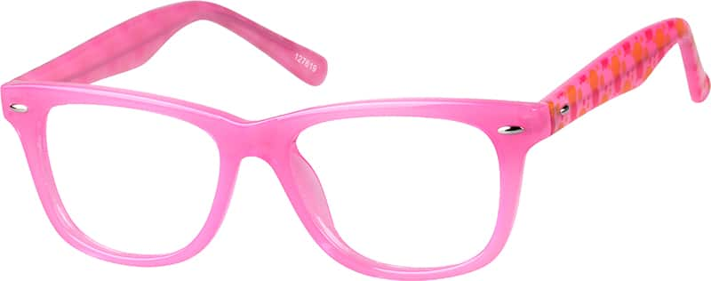 Girl's Square Eyeglasses