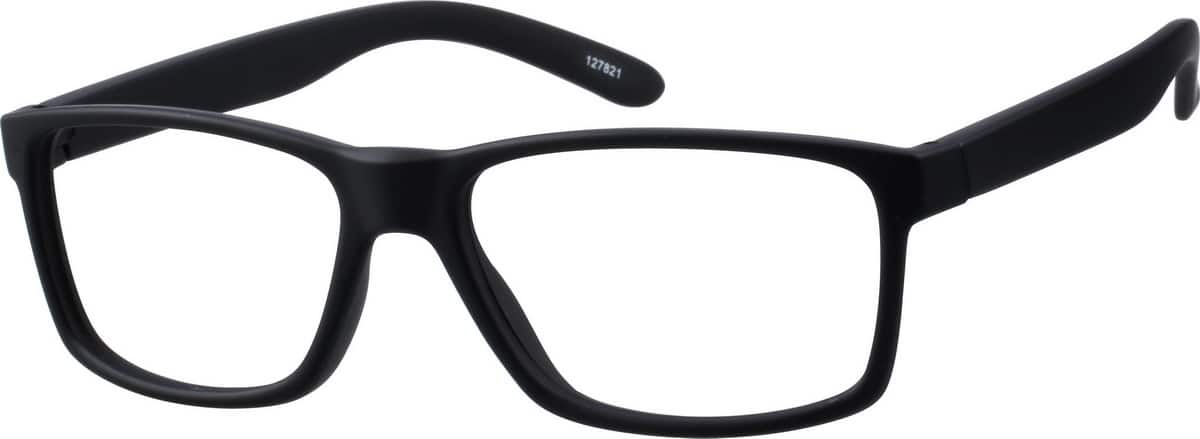 Men's Black Wayfarer Eyeglasses