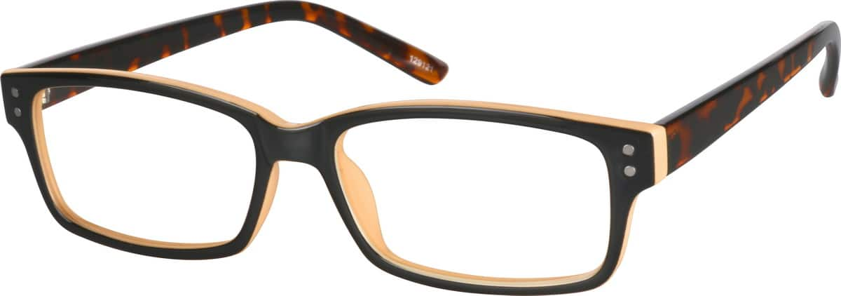 womens-plastic-rectangle-eyeglass-frames-129121