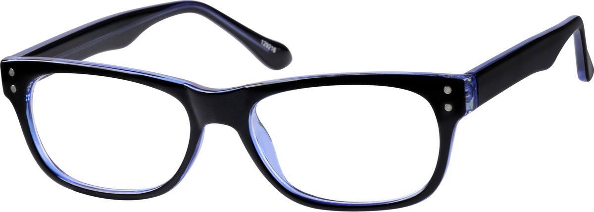UnisexFull RimAcetate/PlasticEyeglasses #129216