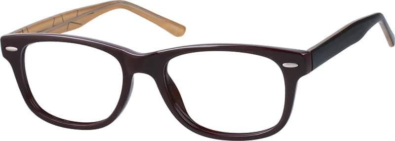UnisexFull RimAcetate/PlasticEyeglasses #129415