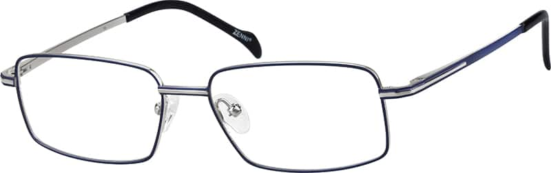 Men Full Rim Titanium Eyeglasses #130316