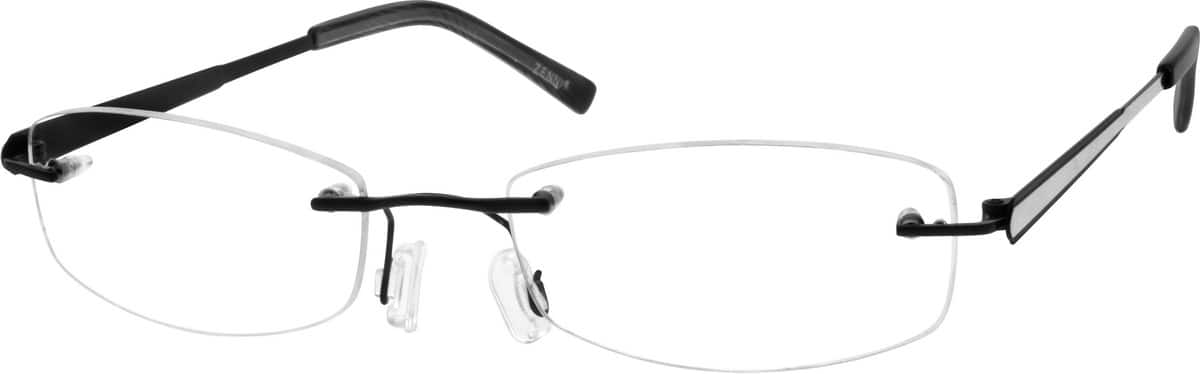 Women Rimless Titanium Eyeglasses #130421