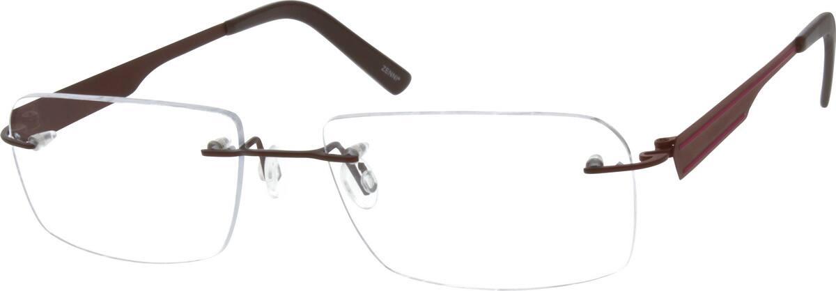 UnisexRimlessTitaniumEyeglasses #130915