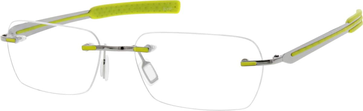 Women Rimless Titanium Eyeglasses #131017