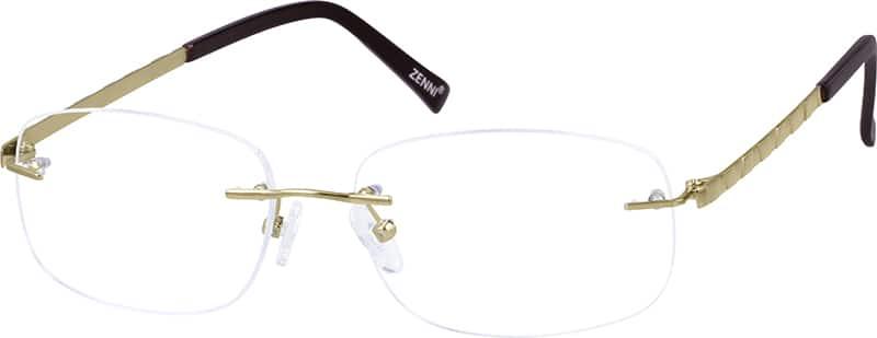 WomenRimlessTitaniumEyeglasses #131514