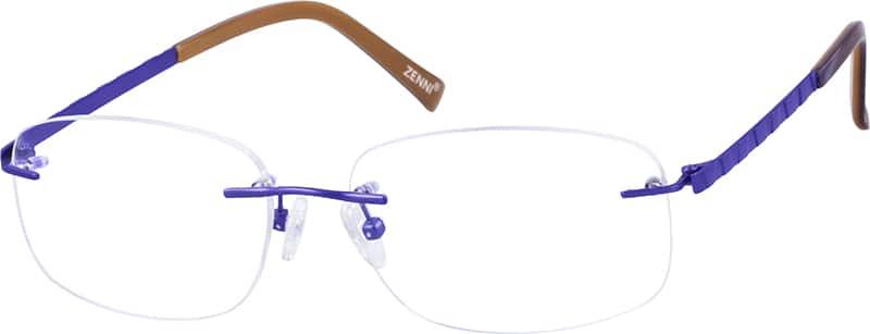 womens-rimless-titanium-eyeglass-frame-131517