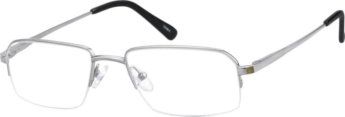 MenHalf RimTitaniumEyeglasses #131614