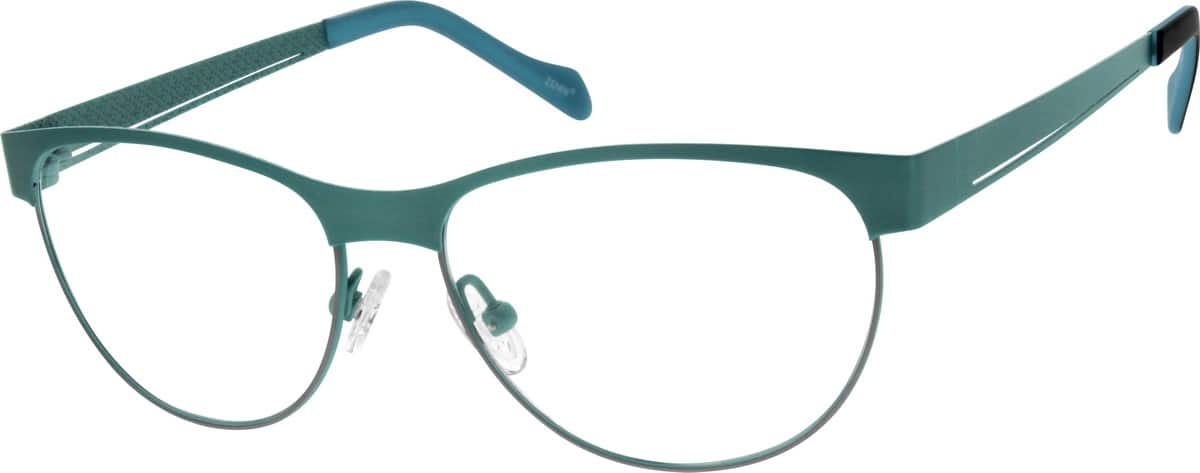 Women Full Rim Titanium Eyeglasses #132115