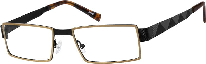 Men Full Rim Titanium Eyeglasses #132514