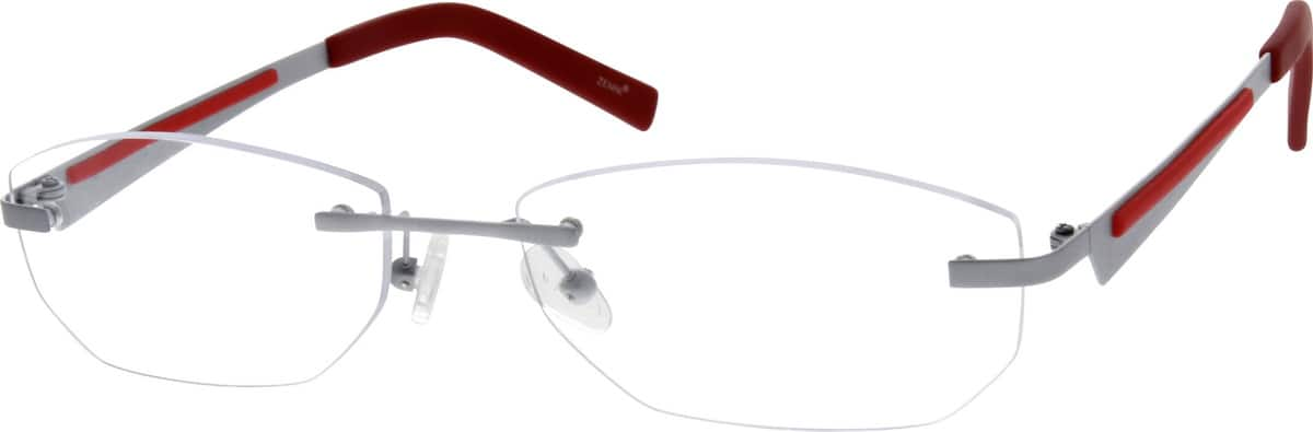 Men Rimless Titanium Eyeglasses #133011