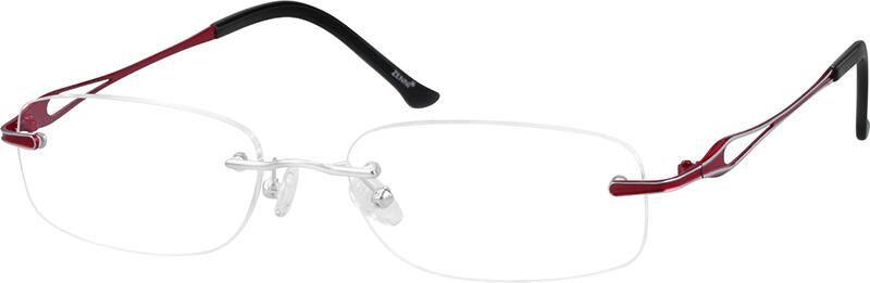 womens-rimless-titanium-eyeglass-frames-133111